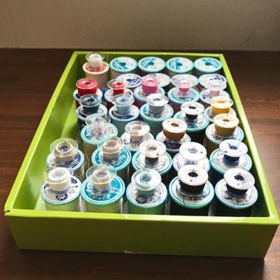 ミシン糸の収納方法! ボビンキャッチャー