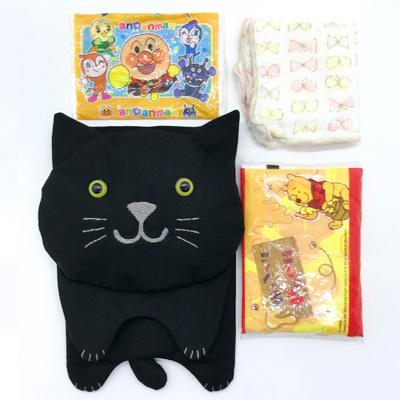 黒猫の移動ポケット