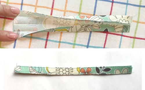 移動ポケットの作り方【ティッシュケース付き】 ふたのみ別布タイプ